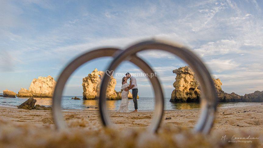 Aliança noivos