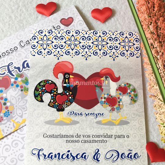 Convite tradicional Barcelos