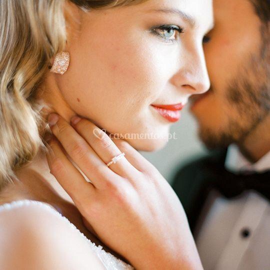 Anéis noivado Monseo