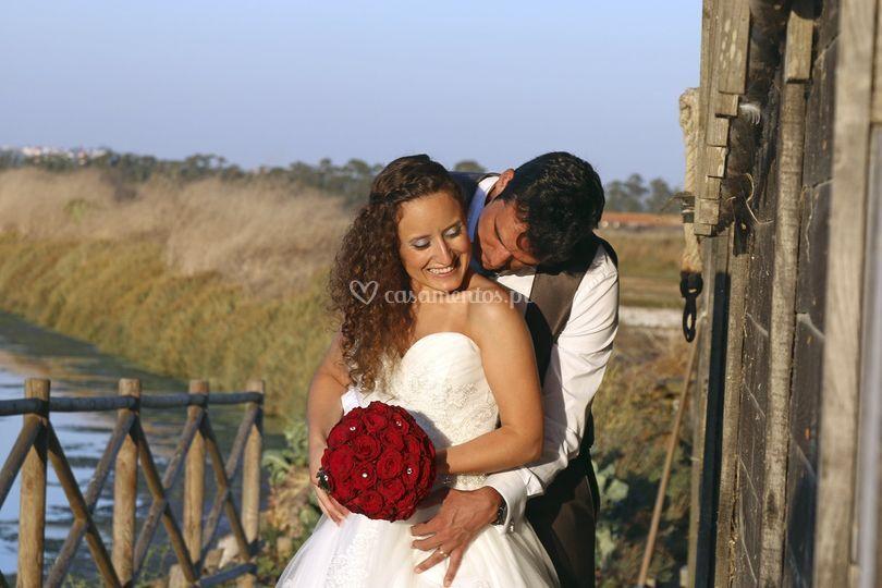 Casal noivos