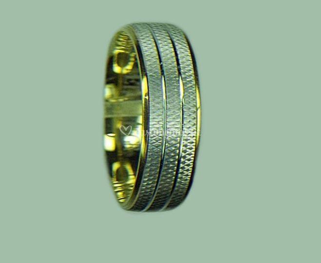 Aliança ma1141 ouro 19k-14k-9k