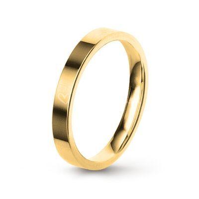 Aliança ouro 3mm