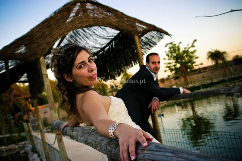 Casamento Ana e Tiago descontração