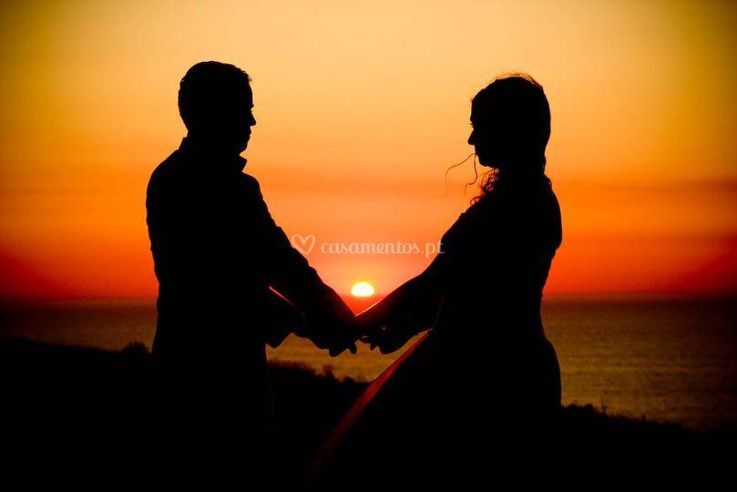 Casamento Marta e David pôr-do-sol