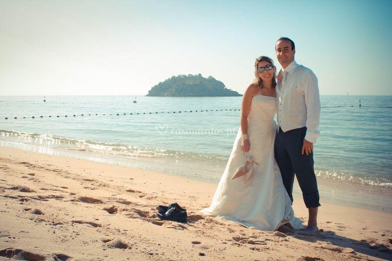 Casamento Ana e Tiago praia