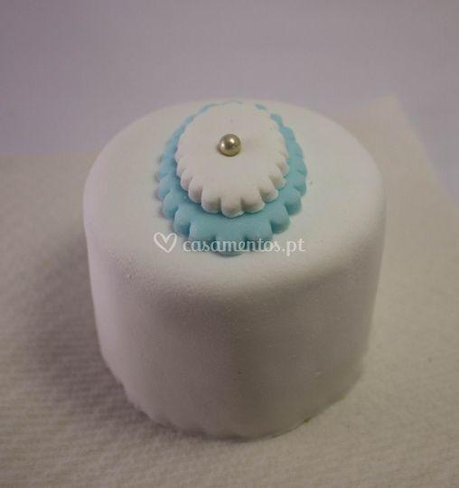 Mini-bolo azul (200g)