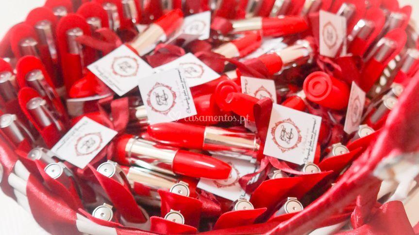 Brinde - canetas formato baton
