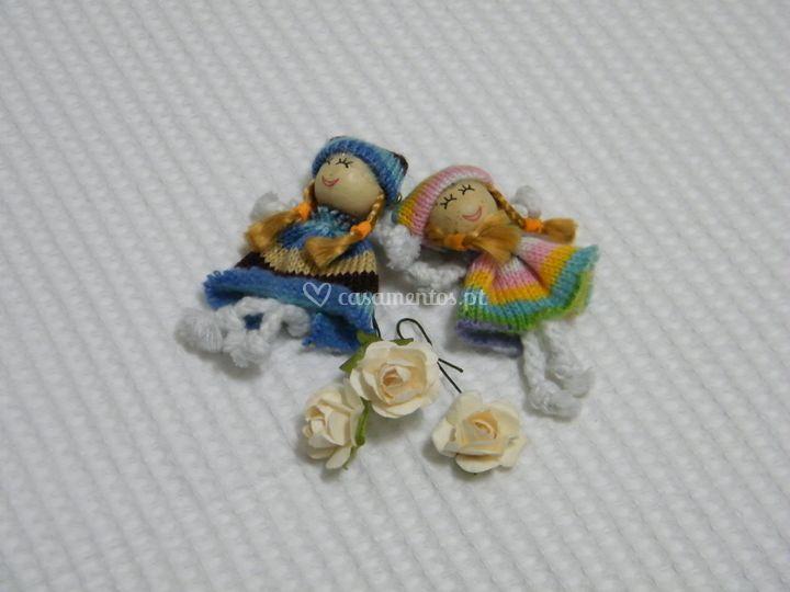 Alfinete de peito - bonecas