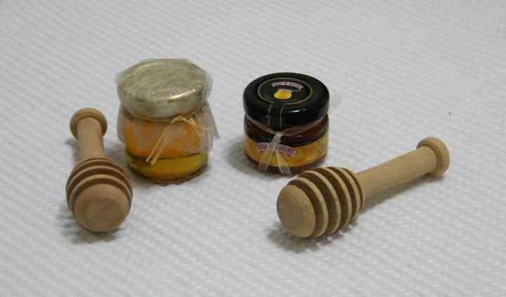 Boiões com mel