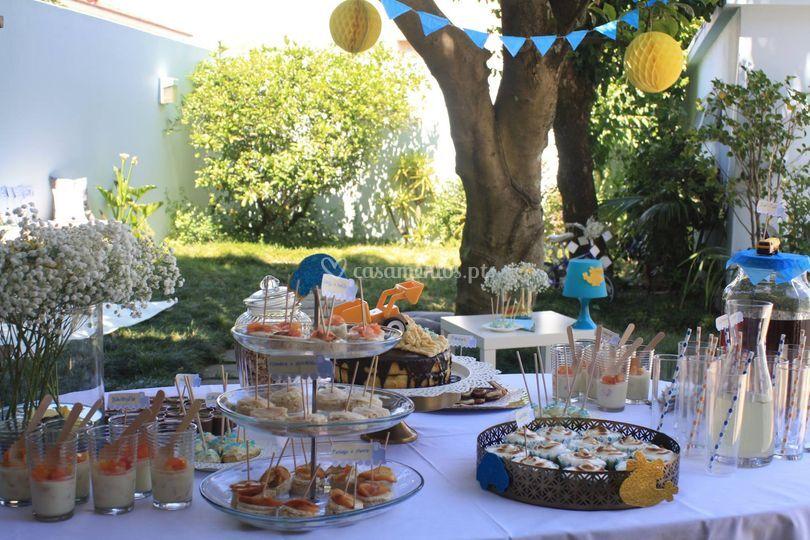 Catering e decoração