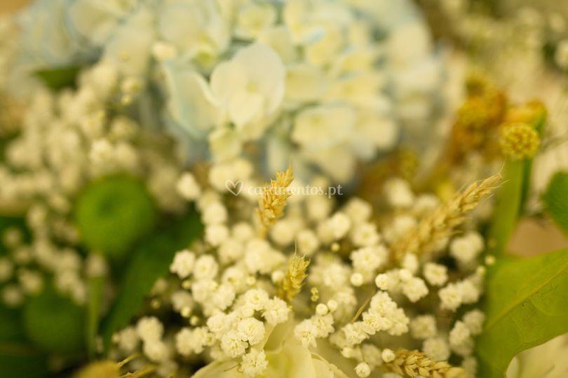Flores e decoração
