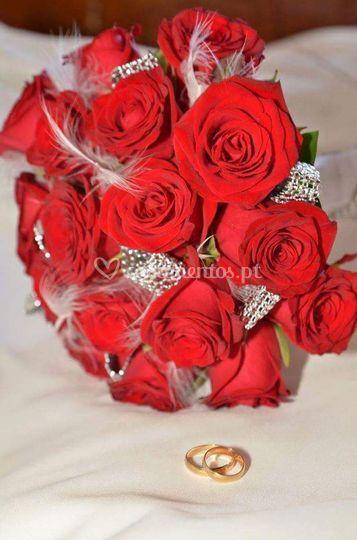 Bouquet rosas passion