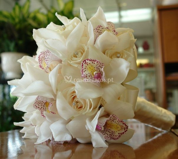 Ramo noiva orquidias