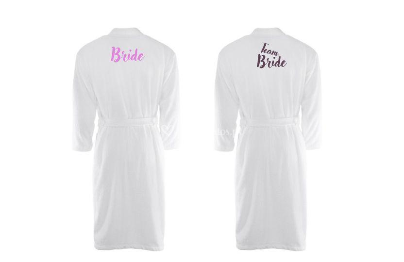 Roupão de banho Team bride