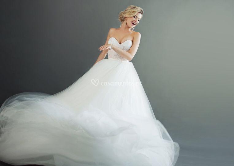 Vestido de noiva por medida