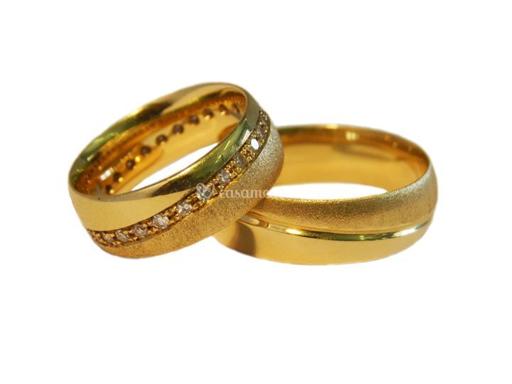 Aliança Ouro Amarelo 140A