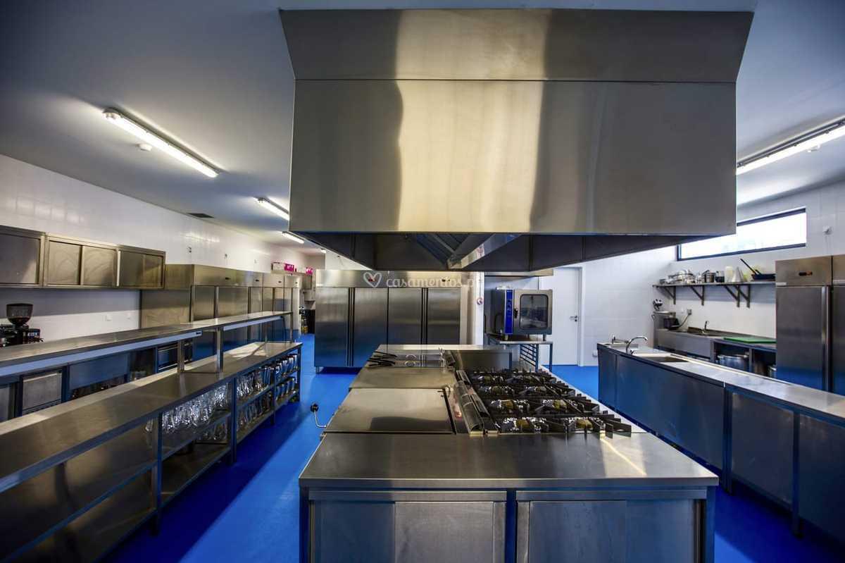 Cozinha Industrial De Gobalio Gardens Foto 21