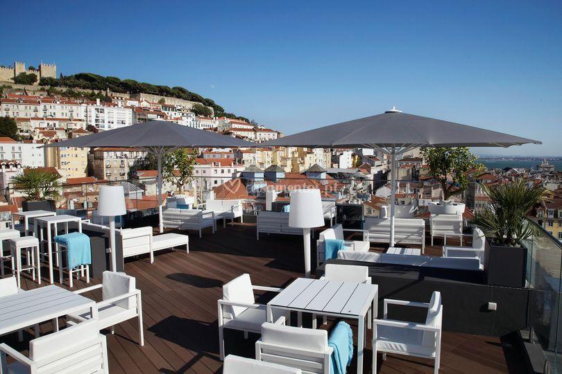 Hotel Mundial ROOFTOP BAR