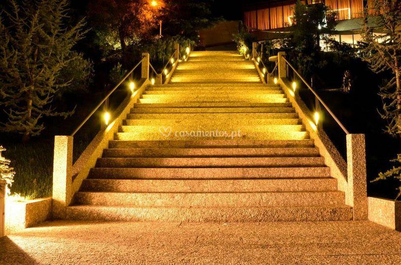 Escadaria principal