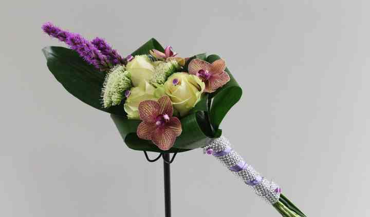 Bouquet de noiva único