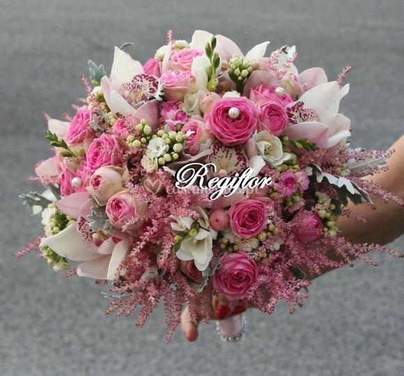 Bouquet noiva romântico