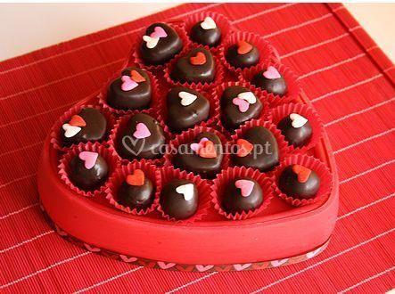 Chocolates caseiros