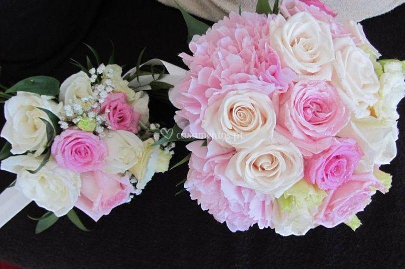 Bouquet de noiva e dama