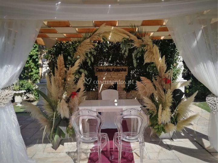 Cerimónia cascata