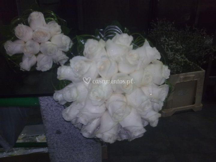 Ramo de noiva branco