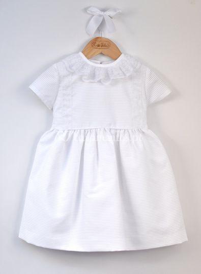 Vestido Risca Branco