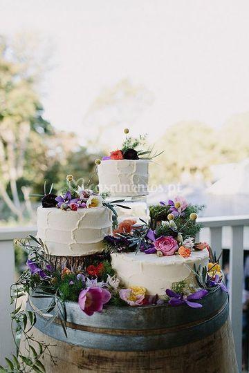 Exemplo bolo casamento