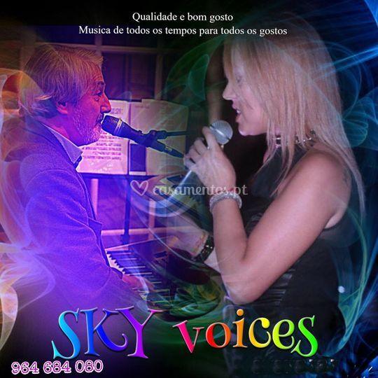Formato duo com voz feminina