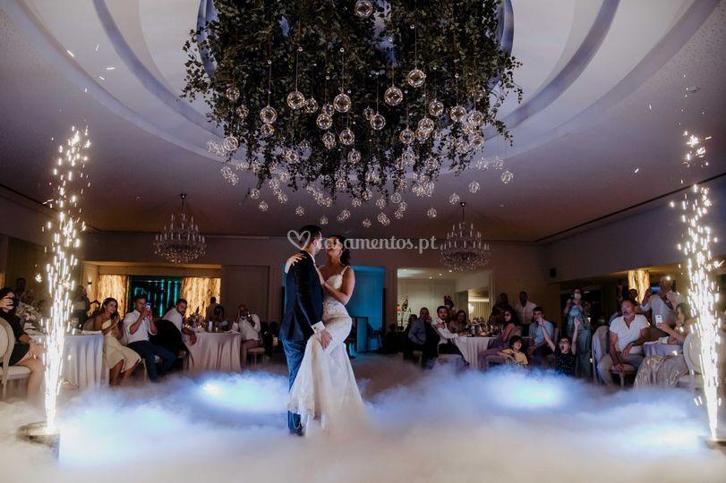 Momento dança dos noivo