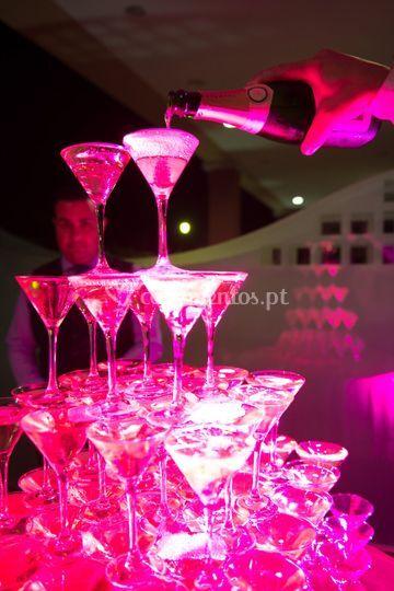Brinde champagne