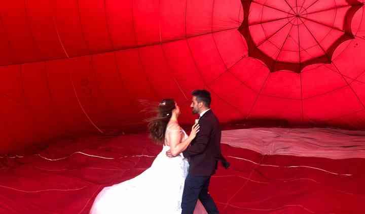 A magia do balão de ar quente!