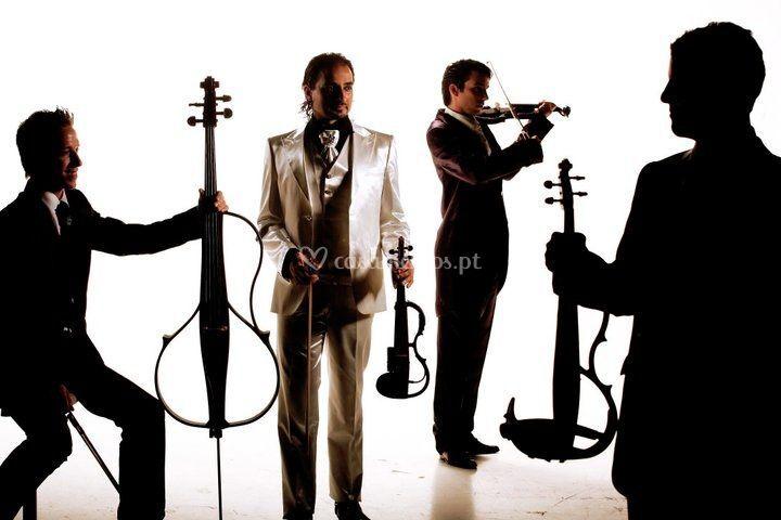Nuno Flores - Quarteto de violinistas