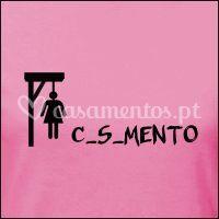 "T-shirt ""Casamento"""