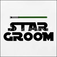 "T-shirt ""Star Groom"""