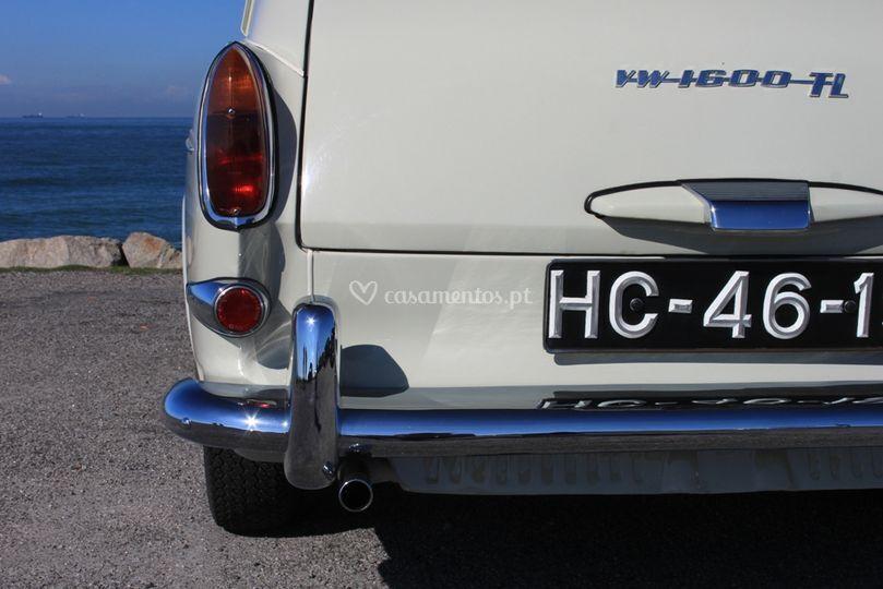 Matrícula VW 1600 TL