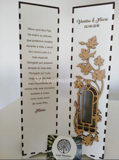 Caixa de Vinho frase