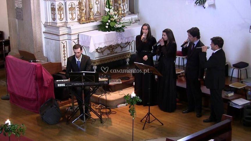 O grupo Cantata - matrimónio