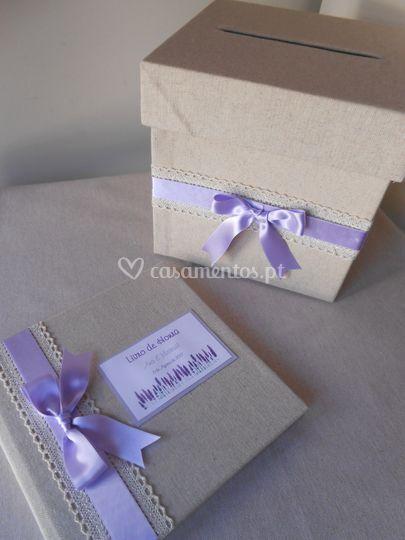 Livro + caixa