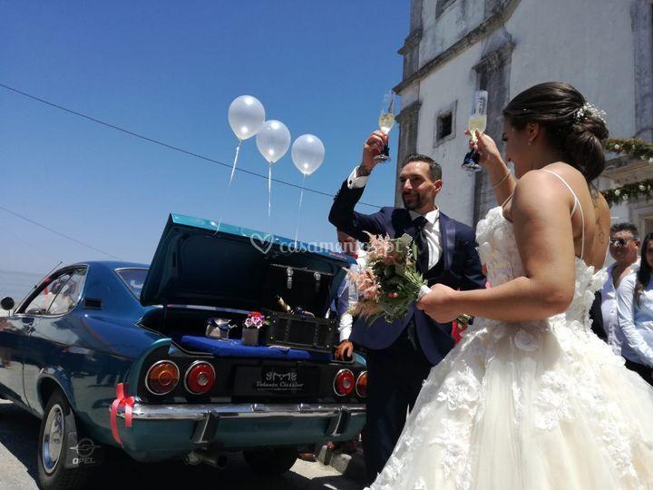Um brinde aos recém casados