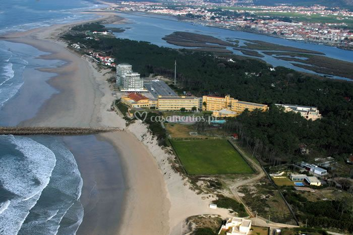 Vista aérea Hotel