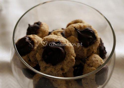 Biscoitos de avelã