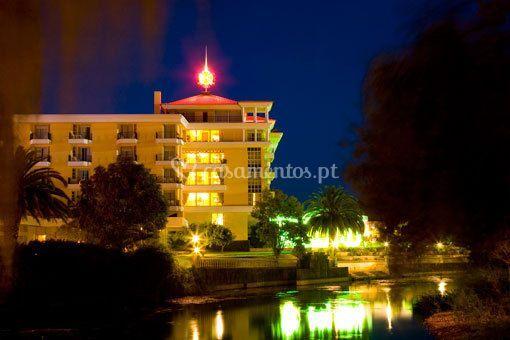 Hotel vista noturna