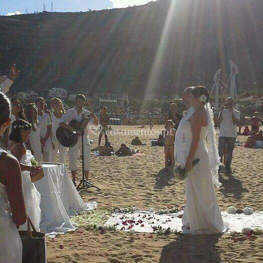 Madeira - Praia de Machico casamento