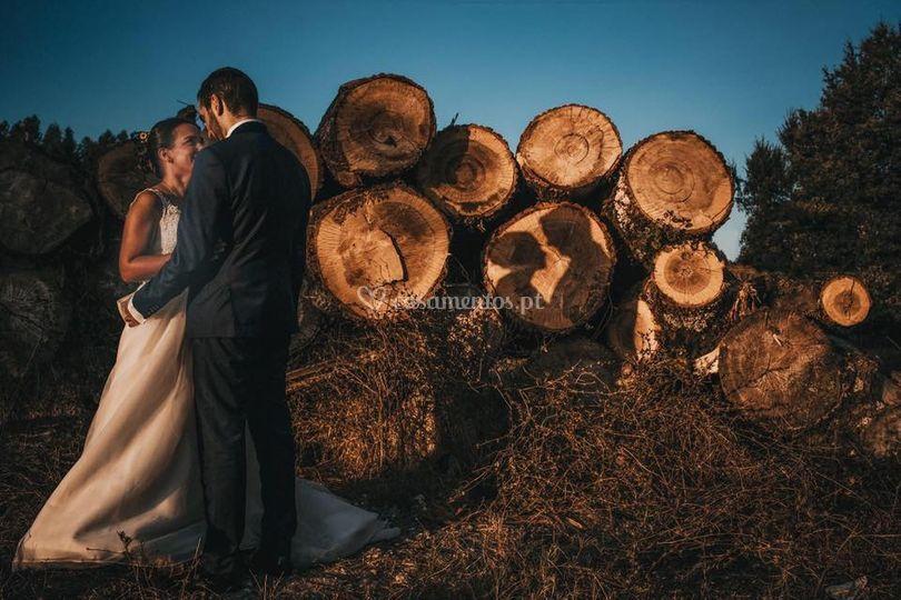 Love on woods