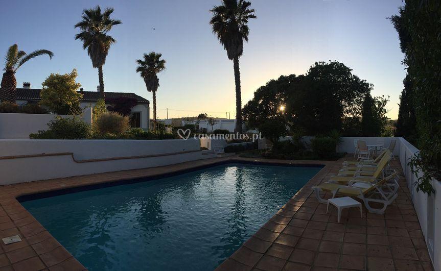 A piscina privada