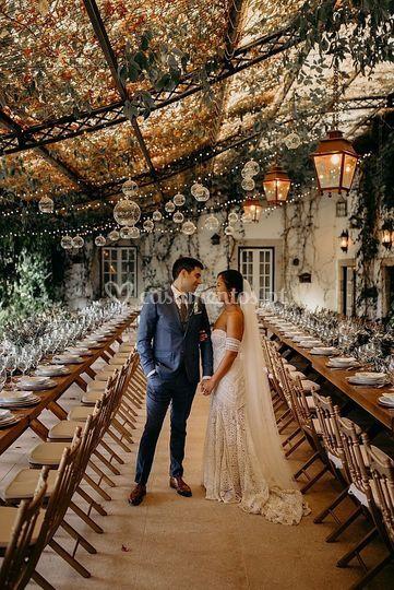 Boho Chic Portuguese Wedding